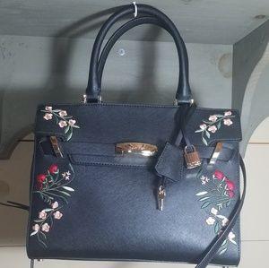 NWT Calvin Klein flower bag